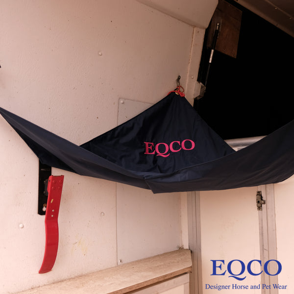 Eqco Horsebox Lorry Trailer Hay Catcher Tidy
