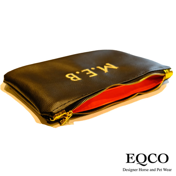 Embroidered Eqco Horse Passport Wallet