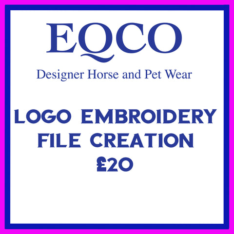 Eqco Embroidery Logo File Creation