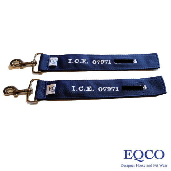 Eqco In Case of Emergency I.C.E. Tags