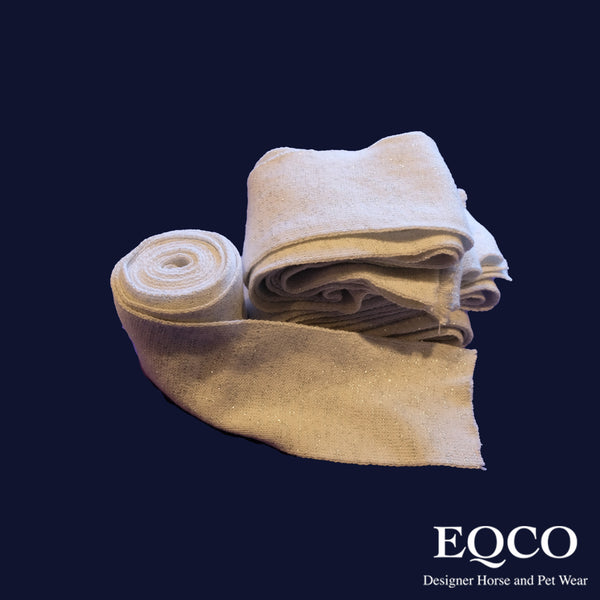 Eqco Sale White With Silver Bandages