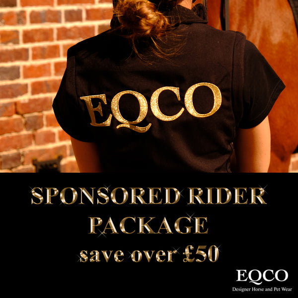 Eqco Sponsored Rider Package