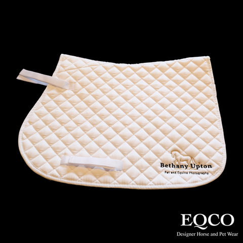 Eqco Embroidered Saddlepad