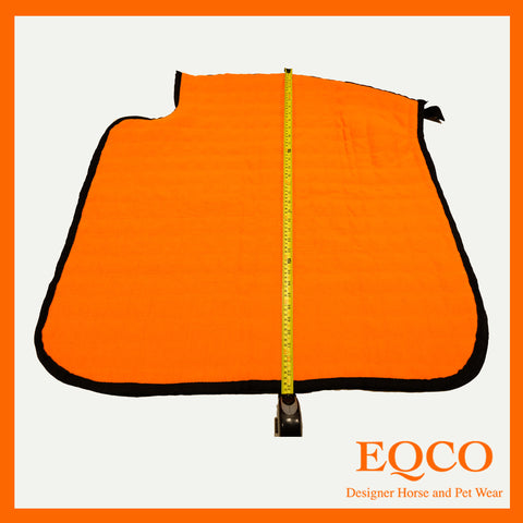 "SALE New Orange Doesitall Quarter Sheet 37"" x 34"""