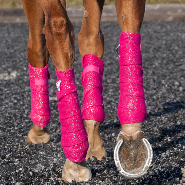 Bandages With Gold Glitter Eqco