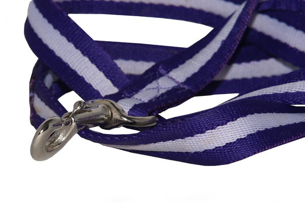 Eqco dog lead in purple and lilac