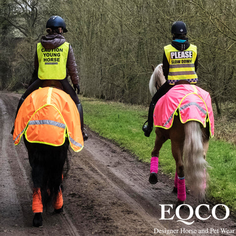 Eqco Waterproof Neon Hi Viz Quarter Sheet