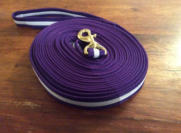 Eqco Purple And Lilac Lunge Line