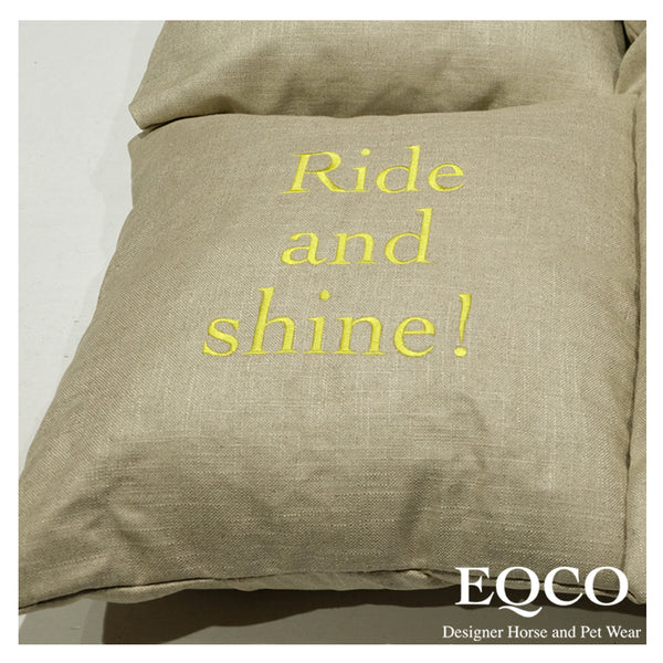 Eqco Customised Cushion