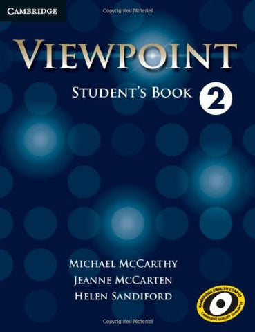 Viewpoint 2. Student's Book - Edition 2013 Michael McCarthy 9780521131896