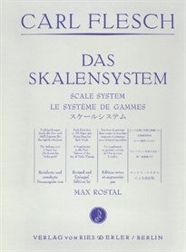 Ries und Erler FLESCH CARL - SCALE SYSTEM Tuition books & learning materia Violin  9780013000099