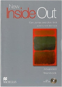 NEW INSIDE OUT Advanced Workbook with Audio CD (No Key Pack) S. Kay 9780230009288