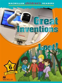 MCHR 6 Great Inventions (Macmillan Children Readers) M. Ormerod 9780230405059
