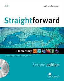 STRAIGHTFORWARD Elem 2nd ED Wb Pk +Key Roy Norris;Jim Scrivener 9780230423060