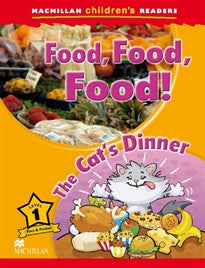 MCHR 1 Food, Food, Food (Macmillan Children's Readers) M. Ormerod 9780230443648