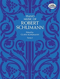 Piano Music of Robert Schumann, Series I (Dover Music for Piano) Robert Schumann;Johannes Brahms 9780486214597