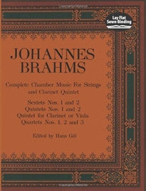 Complete Chamber Music for Strings and Clarinet Quintet (Dover Chamber Music Scores) Johannes Brahms;Music Scores 9780486219141