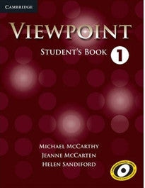 Viewpoint  1 Student's Book Michael McCarthy;Helen Sandiford 9780521131865