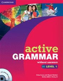 Active Grammar 1 without Answers and CD-ROM (Active Grammar Without Answers) Fiona Davis;Penny Ur 9780521173681