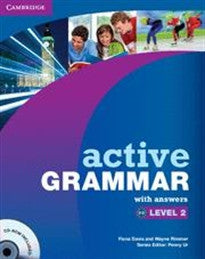 Active Grammar 2 with Answers and CD-ROM (Active Grammar With Answers) Fiona Davis;Wayne Rimmer 9780521175999