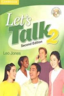 Let's Talk 2nd  2 Student's Book with Self-study Audio CD (Let's Talk (Cambridge)) Leo Jones 9780521692847