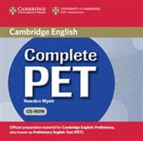 Complete PET Student's Book Pack (Student's Book with answers with CD-ROM and Audio CDs (2)) Emma Heyderman;Peter May 9780521741415
