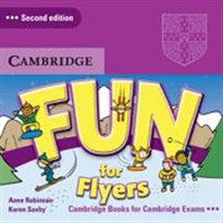 Fun for Flyers Audio CDs (2) Anne Robinson;Karen Saxby 9780521748599