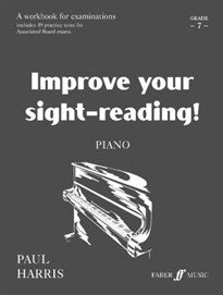 Improve Your Sight-Reading! Piano, Grade 7 Paul Harris 9780571513314