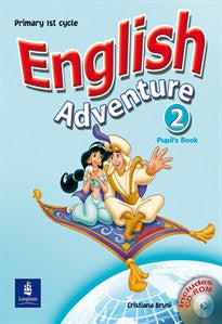 English Adventure Spain 2 Pupil's Book and CD-ROM Pack Cristiana Bruni 9780582829251