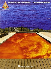 "CALIFORNICATION CHT: ""Californication"" Guitar Recorded Versions (Tab) Red Hot Chili Peppers 9780634009891"