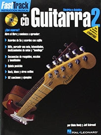 Fasttrack Guitar Method - Spanish Edition - Book 2 Blake Neely;Jeff Schroedl 9780634051302