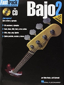 Fasttrack Bass Method - Spanish Edition: Book 2 (Fast Track (Hal Leonard)) Blake Neely;Jeff Schroedl 9780634051333