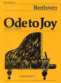 Ode to Joy (Easy Piano No.21) Beethoven 9780711941892