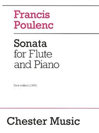 Sonata for Flute and Piano Francis Poulenc 9780711943988