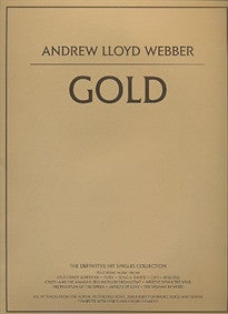 Andrew Lloyd Webber: Gold: The Definitive Hit Singles Collection  9780711992955