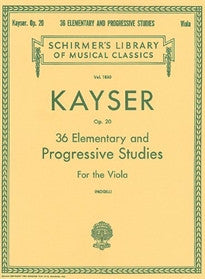 36 Elementary and Progressive Studies Heinrich E. Kayser 9780793558780