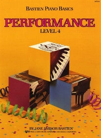 Bastien Piano Basics - Performance (Level 4) Bastien James 9780849752797