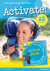 Activate! A2 Students' Book with Access Code and Active Book Pack Elaine Boyd 9781447929260
