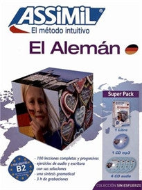 Alemán Superpack (Libro+mp3+4 CD) (Senza sforzo)  9782700580280