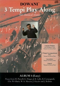 3 Tempi Play Along: For Classical Music: 1  9783905479102