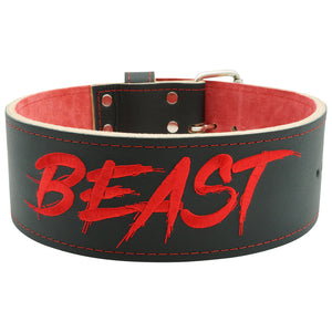 Alpha Designs 'BEAST' 10mm Single-Prong Powerlifting Belt - Hand made in the UK - Lifetime Warranty