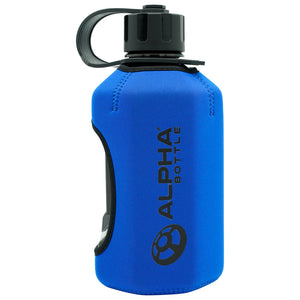 Alpha Bottle XL + Alpha Armour Neoprene Protective Sleeve - Discount Bundle