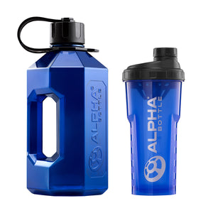 Alpha Bottle XXL + Alpha Bottle 750 V2 Anti-Bacterial Shaker