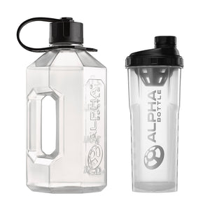 Alpha Bottle XXL + Alpha Bottle 1000 V2 Anti-Bacterial Shaker