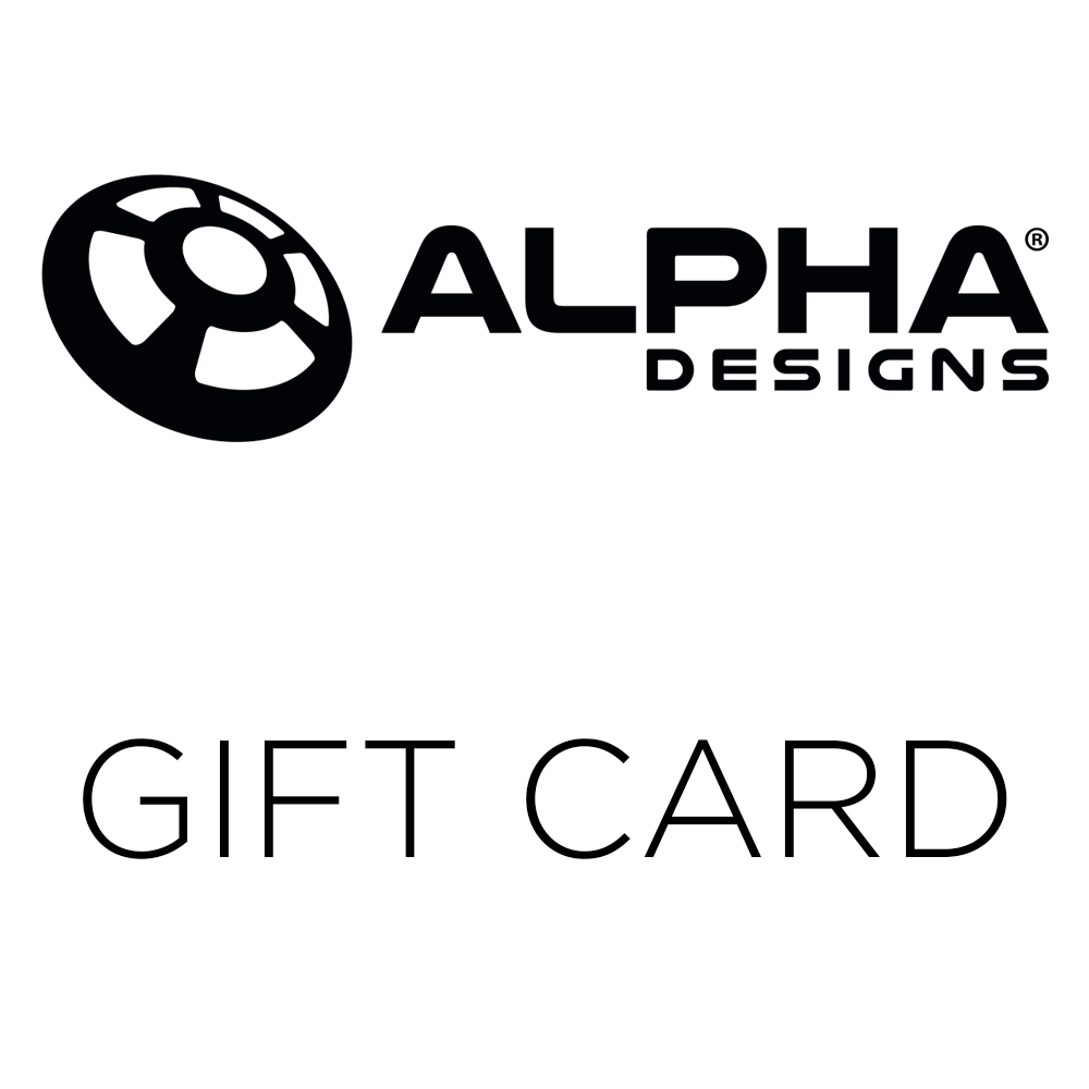 Alpha Designs Gift Card