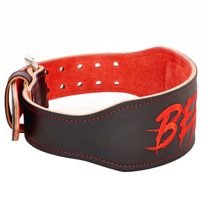 Alpha Designs 'BEAST' Weightlifting Belt - Hand-made in the UK - Lifetime Warranty