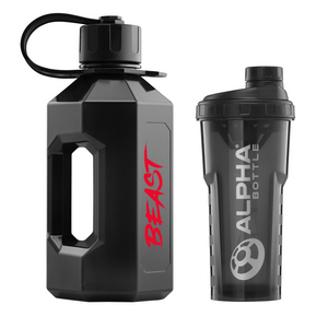 Discount Bundle! Alpha Bottle XL Eddie Hall 'BEAST' Edition + Alpha Bottle 750 V2