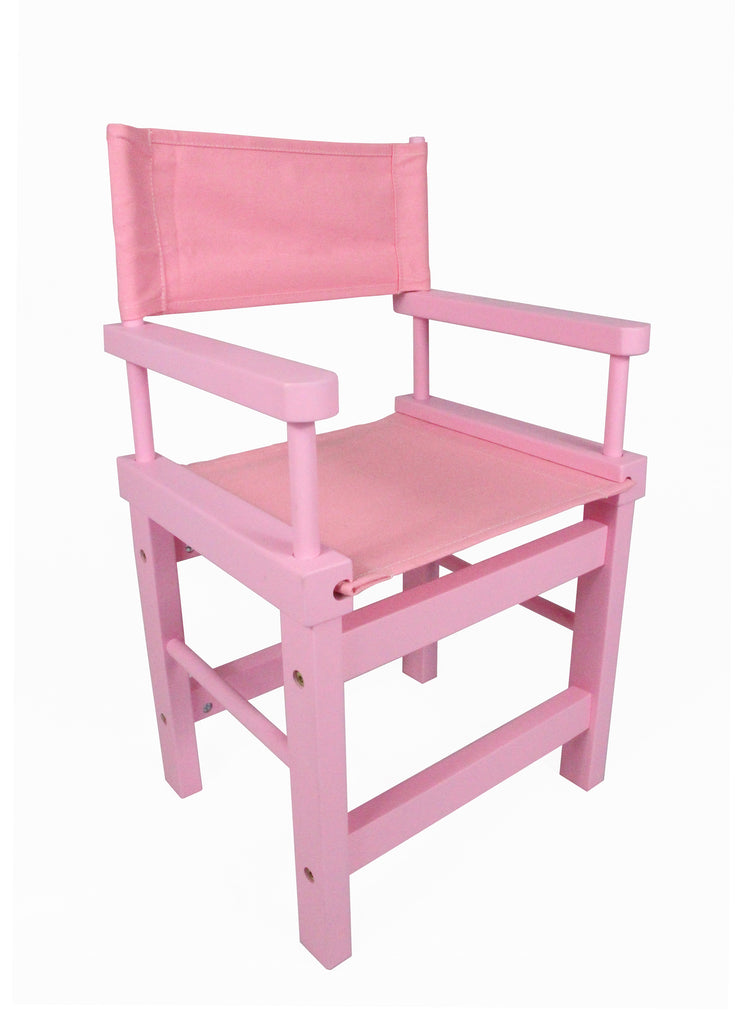 Kids' Directors Chair - Pink Frame, Pink Canvas