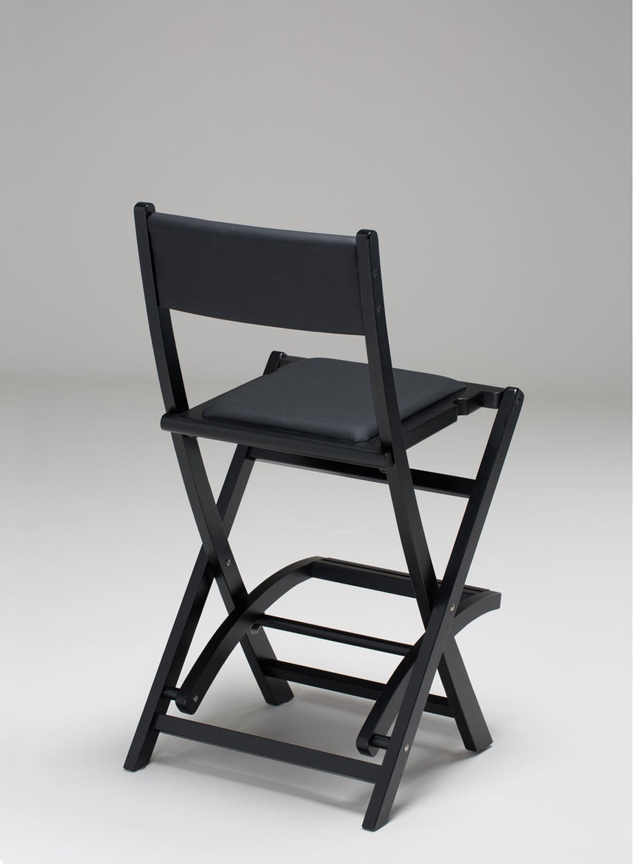 Padded Folding Wooden Salon Chair - Personalise Online  - 2