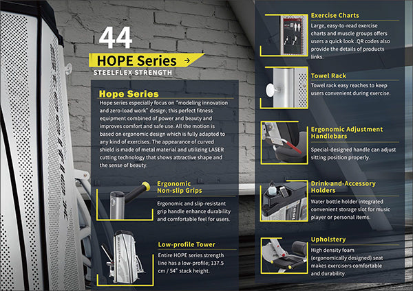 Catalog Steelflex Hope Series